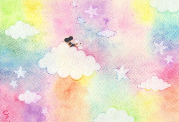 daydream_a@克里斯多插畫森林