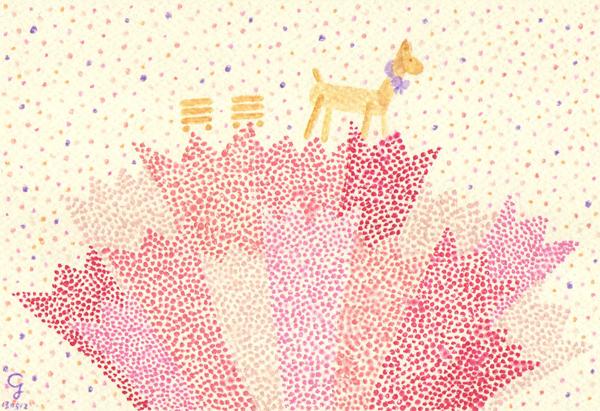 spring_r@克里斯多插畫森林