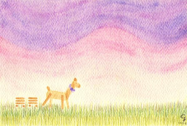 sunset@克里斯多插畫森林