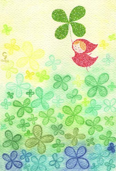 clover_a@克里斯多插畫森林