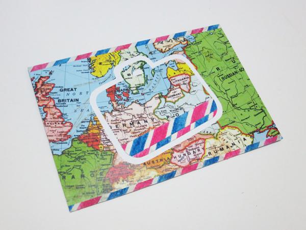 map_envelope_l@克里斯多插畫森林
