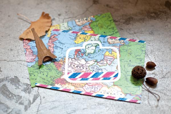 map_envelope_a@克里斯多插畫森林