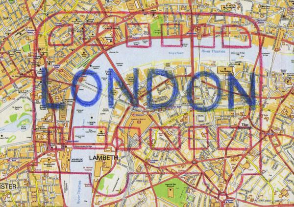 postcard_of_london_c@克里斯多插畫森林