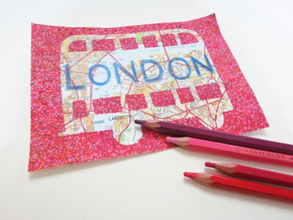 postcard_of_london_h@克里斯多插畫森林
