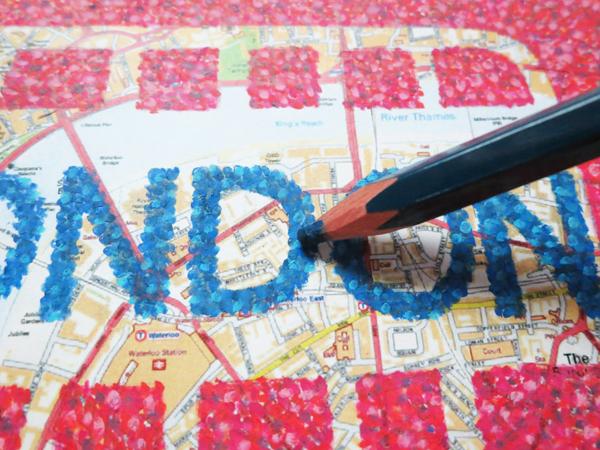 postcard_of_london_j@克里斯多插畫森林
