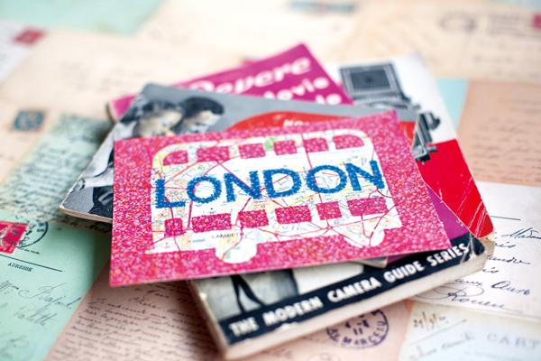 postcard_of_london_a@克里斯多插畫森林