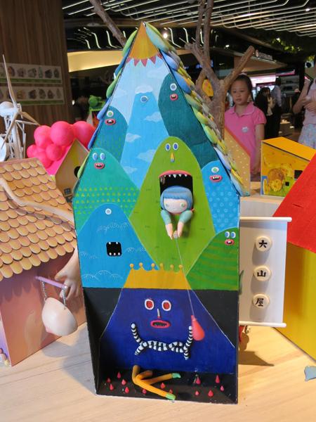 台中勤美綠圈圈夏日藝術祭_為城市加溫_百鳥開店計畫_h@克里斯多插畫森林