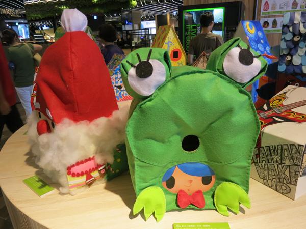 台中勤美綠圈圈夏日藝術祭_為城市加溫_百鳥開店計畫_r@克里斯多插畫森林
