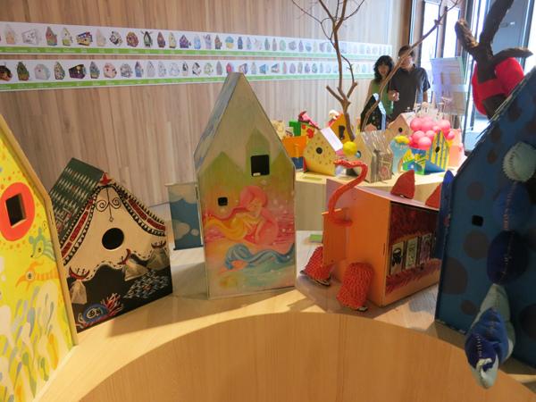 台中勤美綠圈圈夏日藝術祭_為城市加溫_百鳥開店計畫_m@克里斯多插畫森林