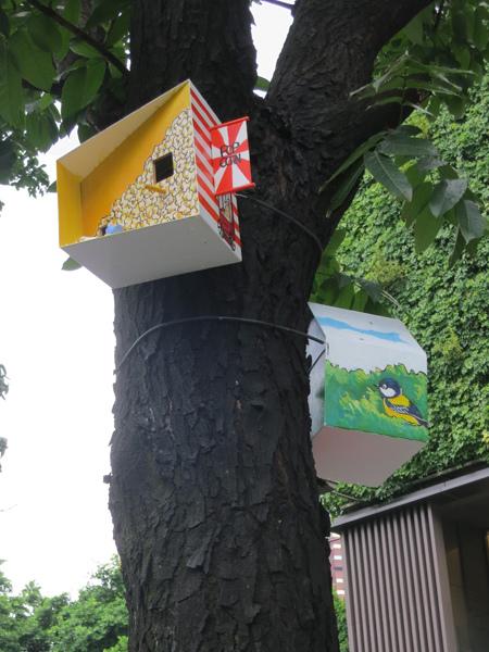 台中勤美綠圈圈夏日藝術祭_為城市加溫_百鳥開店計畫_bb@克里斯多插畫森林