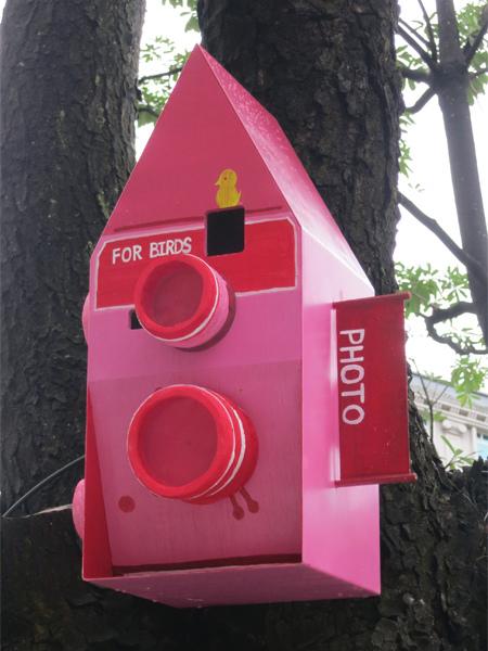 台中勤美綠圈圈夏日藝術祭_為城市加溫_百鳥開店計畫_cc@克里斯多插畫森林
