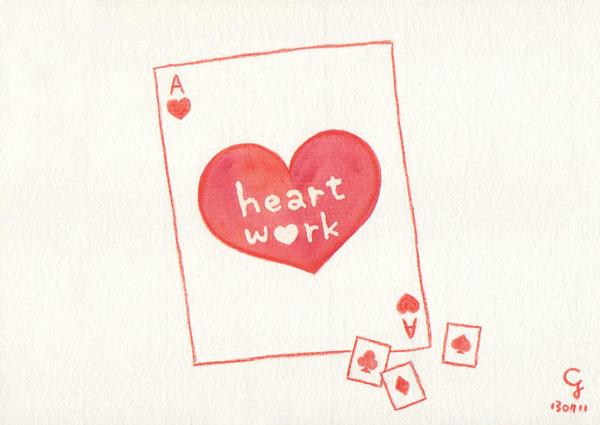 heart_work@克里斯多插畫森林