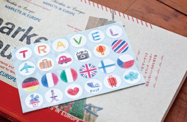 sticker_of_travel_a@克里斯多插畫森林