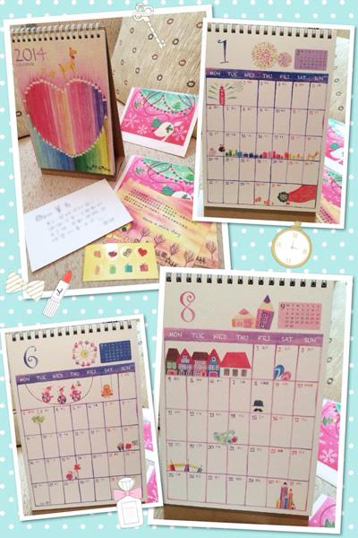 2014_calendar_a@克里斯多插畫森林