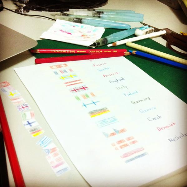 schedule_g@克里斯多插畫森林