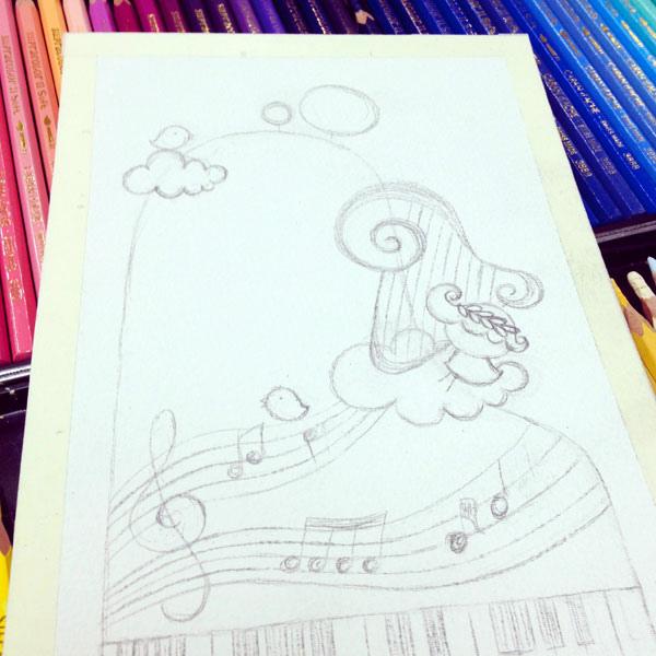 piano_b@克里斯多插畫森林