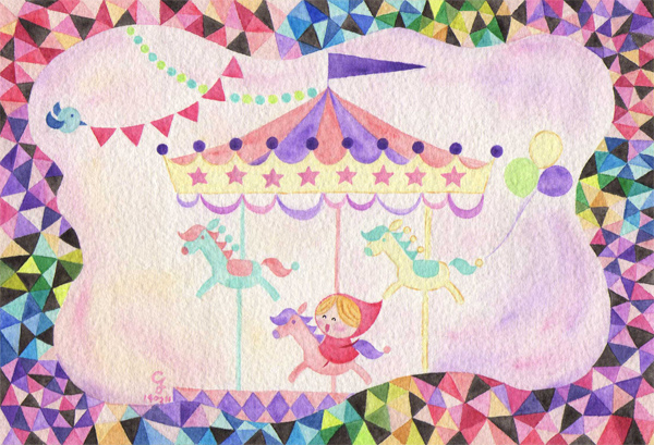 carousel_a@克里斯多插畫森林