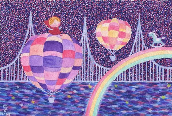 hot_air_balloon_a@克里斯多插畫森林
