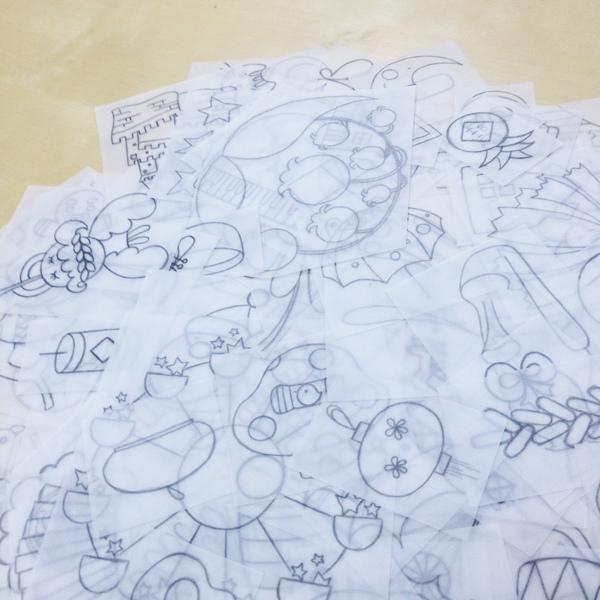 水彩色鉛筆萬用魔法_j@克里斯多插畫森林