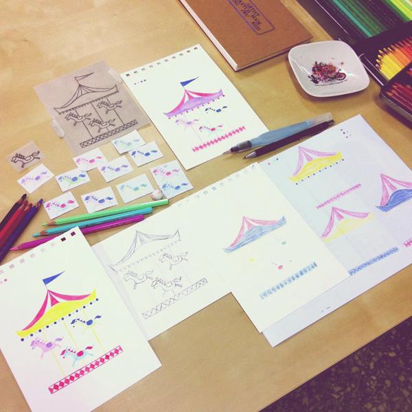 水彩色鉛筆萬用魔法_k@克里斯多插畫森林