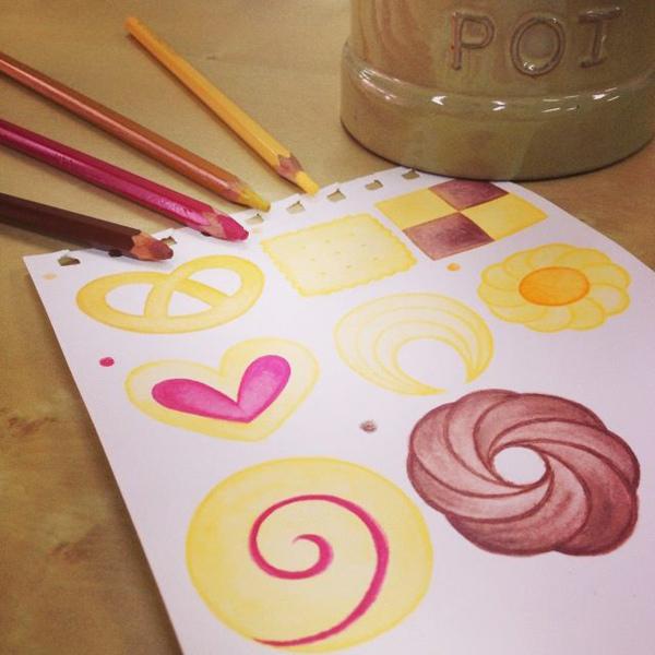 水彩色鉛筆萬用魔法_m@克里斯多插畫森林