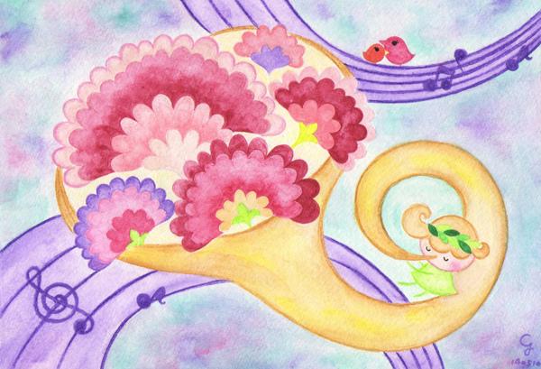 carnation@克里斯多插畫森林