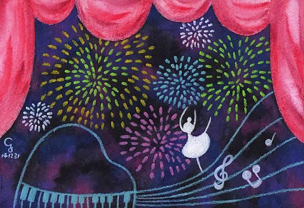 happy_new_year@克里斯多插畫森林