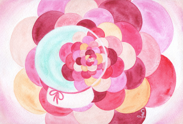 flower@克里斯多插畫森林