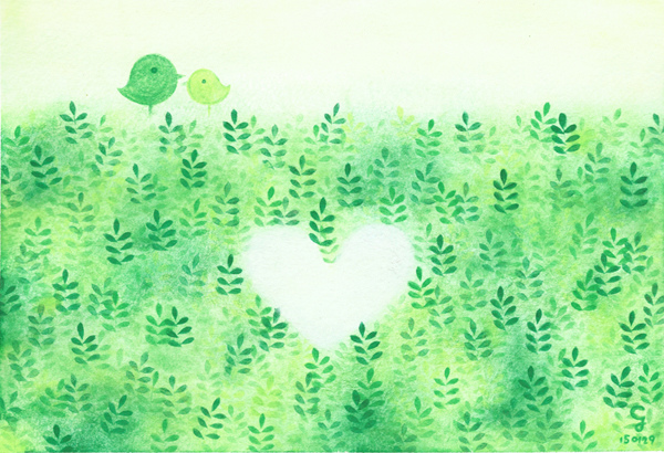 love@克里斯多插畫森林
