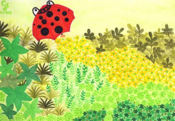 summer_c@克里斯多插畫森林