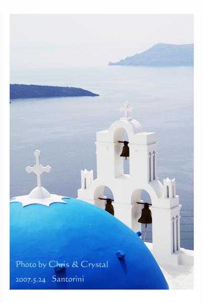 聖島的有名景點,位於Oia