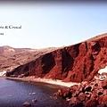 克里特的紅色沙灘