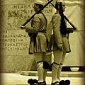 憲法廣場憲兵交接