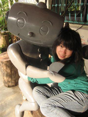 機器人抱抱