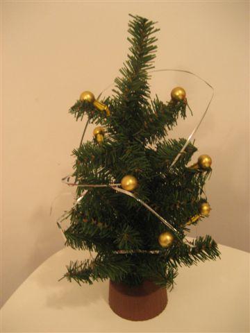 味子:店內擺飾-2 小聖誕樹