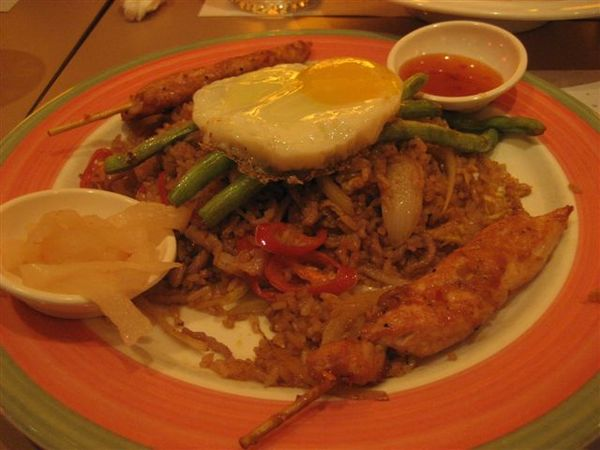 告羅士打:我的印尼炒飯~~