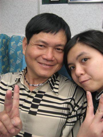 老爸和我,哈哈