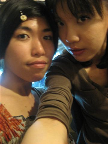 邱涵和她朋友