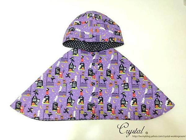 萬聖節-紫色-雙面連帽斗篷-1.jpg