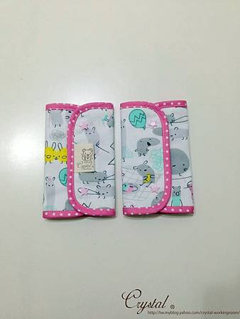 小妖怪-背巾口水巾-雙面粉-3