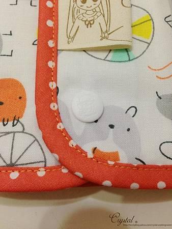 小妖怪-橘-Ergo背巾口水巾-6.jpg