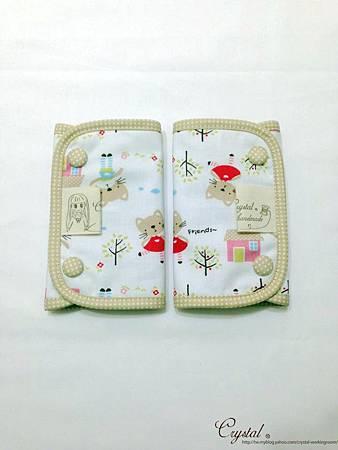 咖啡貓咪-米色-Ergo背巾口水巾-1.jpg