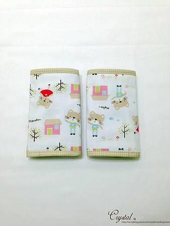 咖啡貓咪-米色-Ergo背巾口水巾-2.jpg