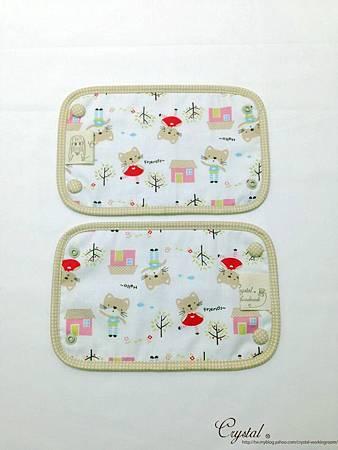 咖啡貓咪-米色-Ergo背巾口水巾-3.jpg