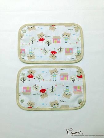 咖啡貓咪-米色-Ergo背巾口水巾-4.jpg