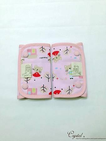 咖啡貓咪-粉色-Ergo背巾口水巾-1.jpg
