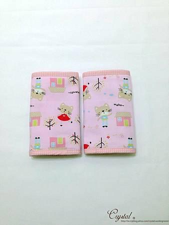 咖啡貓咪-粉色-Ergo背巾口水巾-2.jpg