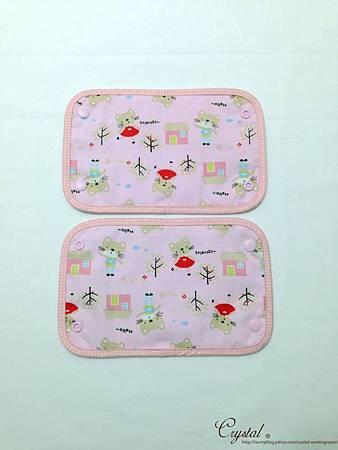 咖啡貓咪-粉色-Ergo背巾口水巾-4.jpg