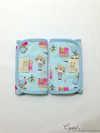 咖啡貓咪-藍色-Ergo背巾口水巾-1.jpg