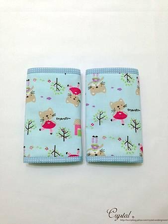 咖啡貓咪-藍色-Ergo背巾口水巾-2.jpg